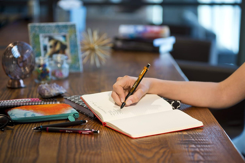 Black Zebra Pen Z-Grip Plus Mechanical Pencil Pink 3 Pack Assorted Barrel Colors Blue 0.7mm Bonus Lead and Erasers