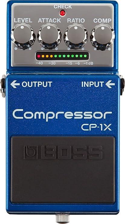 BOSS CP-1X - Pedal de guitarra compresor: Amazon.es: Instrumentos ...
