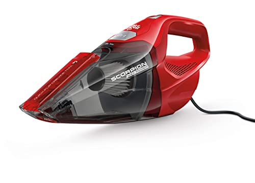 Dirt Devil Scorpion Handheld Vacuum Cleaner, Corded, Small, Dry Hand Held Vac With Cord, Red, SD20005RED Design Might Vary