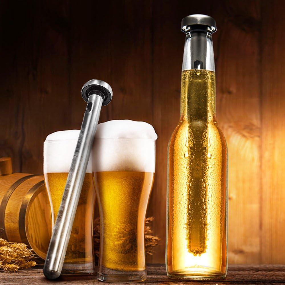 TRIXES Acier Inoxydable Bière Boisson Bouteille de refroidissement refroidissement Bâtons baguettes