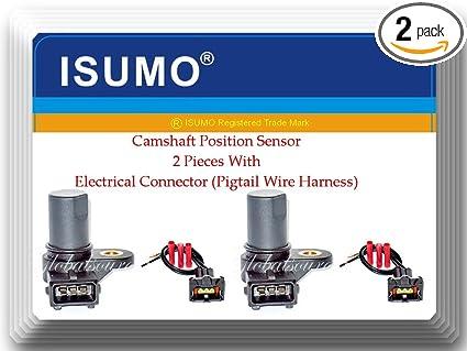 Amazon.com: 2 Pc 39350-23700 Camshaft Position Sensor W/Electrical on 2014 elantra wheels, 2014 elantra fuse box, 2014 elantra timing belt, 2014 elantra fuel pump, 2014 elantra door handle, 2014 elantra fuel pressure regulator, 2014 elantra gas tank, 2014 elantra timing chain,