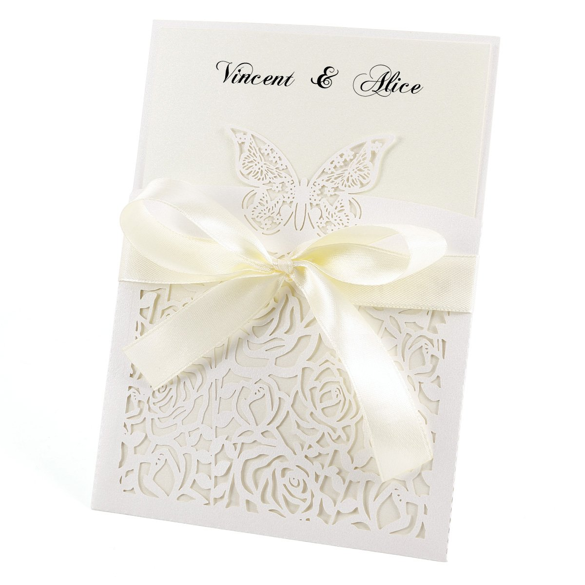 10 Day Time /Evening Wedding Invitations Sheets with Envelopes Anladia