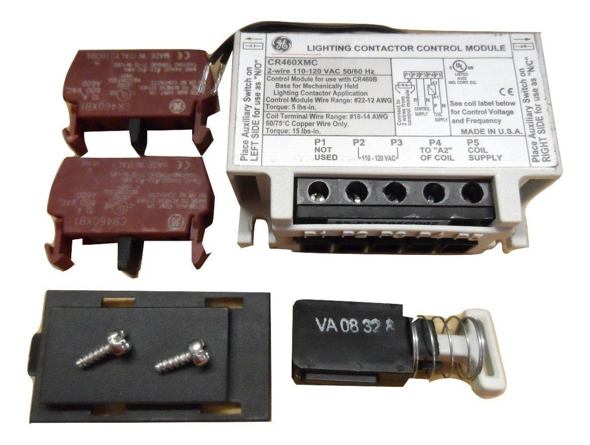 GE CR460XMC 2 Wire Conversion Kit Use With CR463 Series Lighting Contactor
