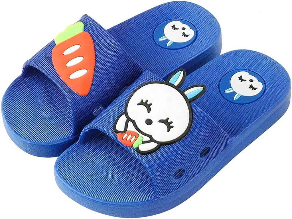 Zapatillas de Estar por Casa Conejo Dibujos Animados de Interior para Ni/ñas Ni/ños Zapatos de Playa y Piscina Chanclas Sandalias de Verano Antideslizante Fannyfuny