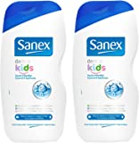 Sanex Douche et Bain Dermo Kids 500 ml Lot de 2
