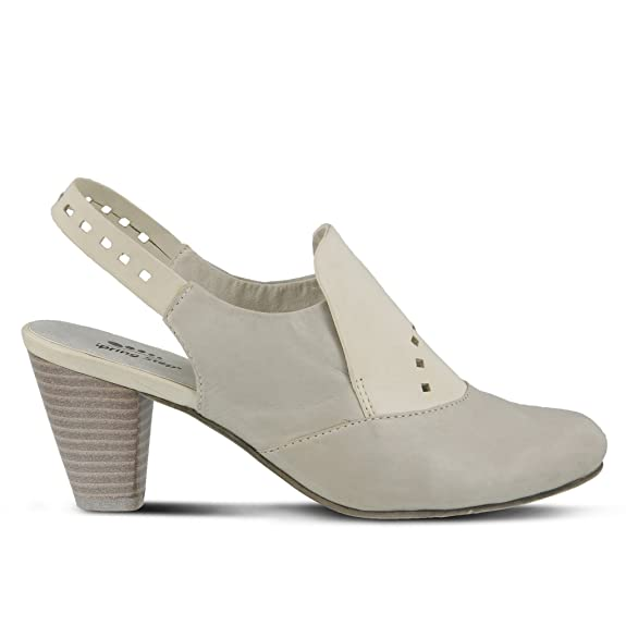 Spring Step Arual Slingback(Women's) -Black Leather Free Shipping Cheapest Classic Sale Online pMEYKnJ0RW