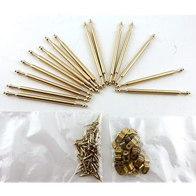 Melody Jane Dolls Houses House Miniature Staircase Runner Carpet Accessory 15 Brass Stair Rods: Toys & Games [5Bkhe0204487]