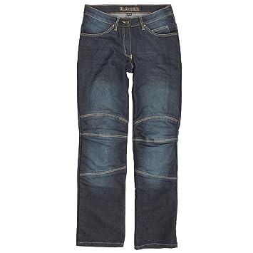 Racer Cordura Kevlar Stretch Jeans, Azul Lavado, XL