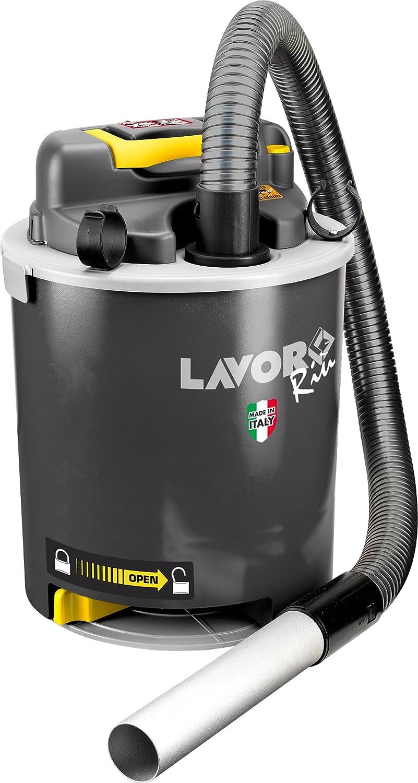Aspirador de cenizas Lavorwash 8.241.0008 negro con pictogramas: Amazon.es: Bricolaje y herramientas