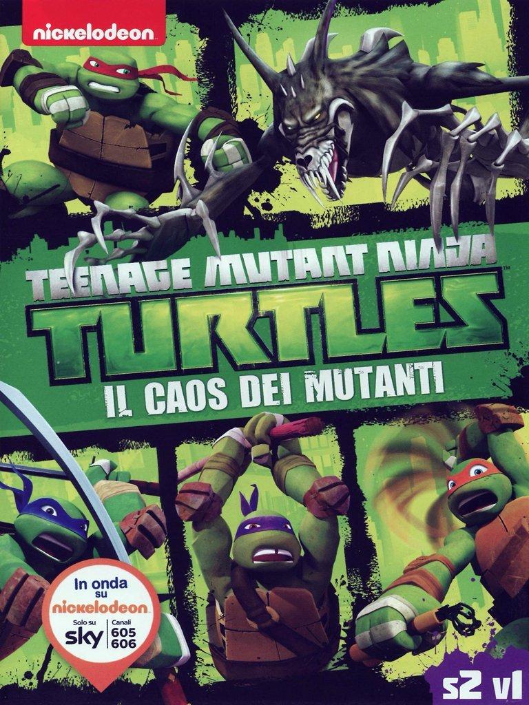 Amazon.com: teenage mutant ninja turtles - il caos dei ...