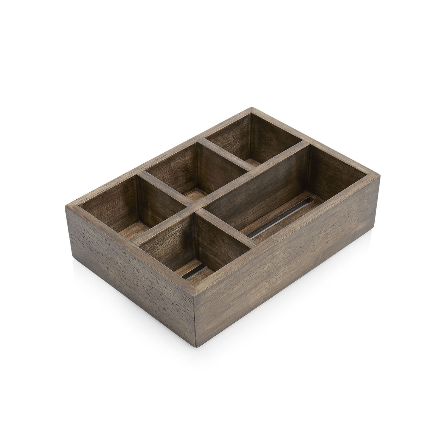 Paradigm Trends Driftwood Compartment Tray by Paradigm Trends
