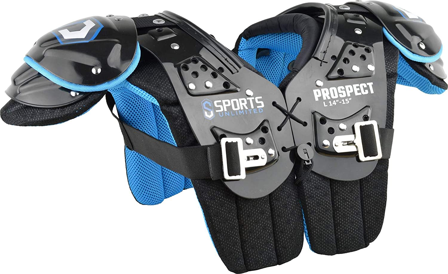Sports Ultimate Prospect Youth Football Shoulders Pad