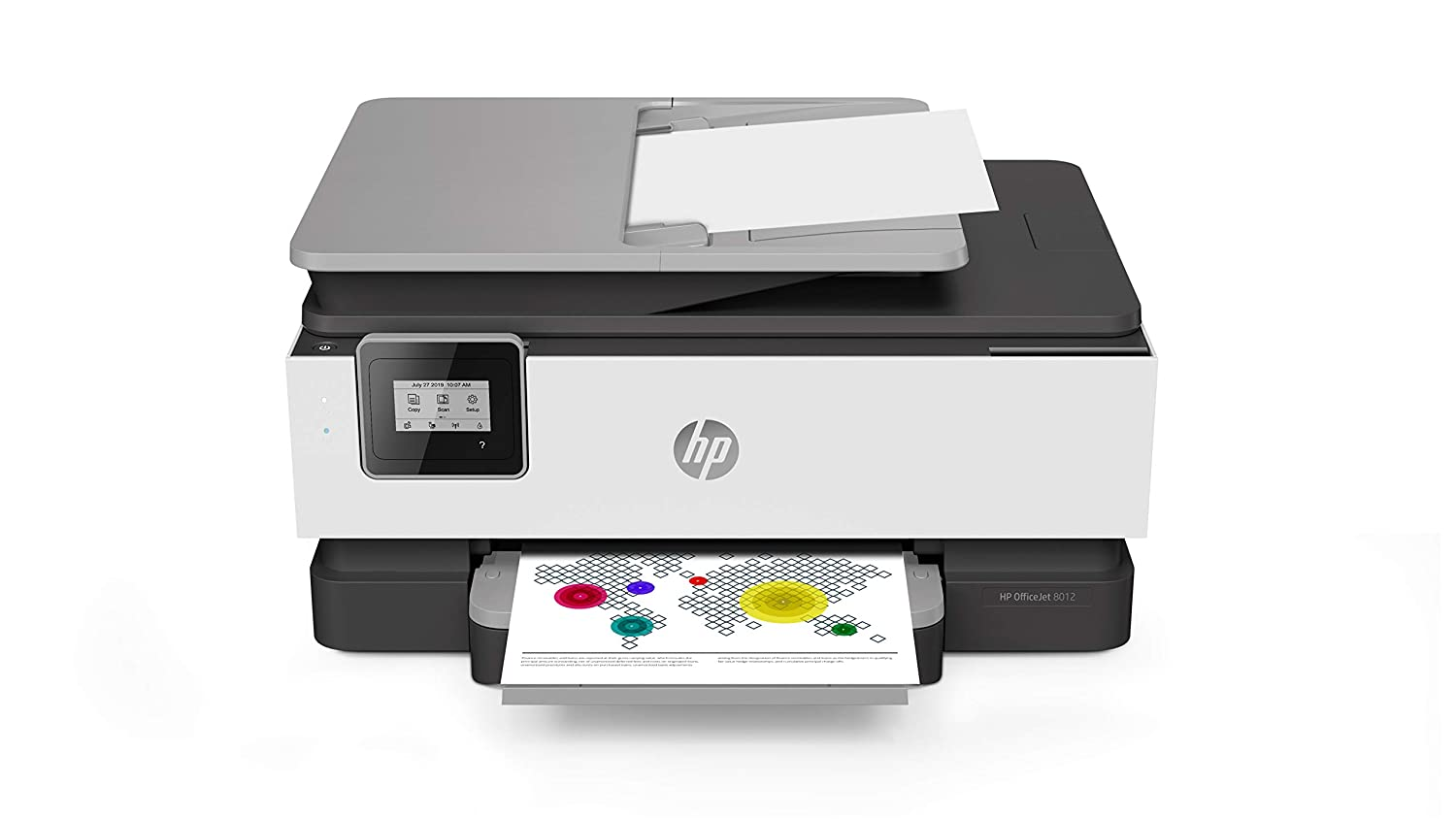 Compatible with Alexa and Google Assistant Scan HP OfficeJet Pro 9016 All-in-One Wireless Printer Copy From Your Phone and Voice Activated Instant Ink Ready with 2 Months Trial Included Print