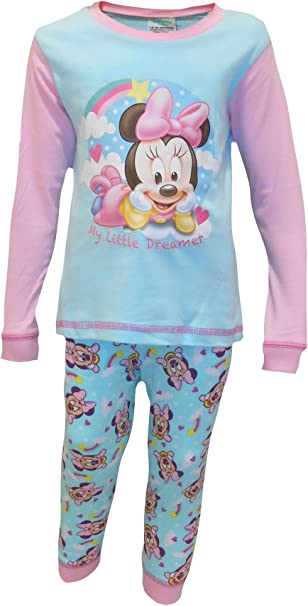 Baby Girl Disney Minnie Mouse Pyjamas Dreams 6 to 24 Months