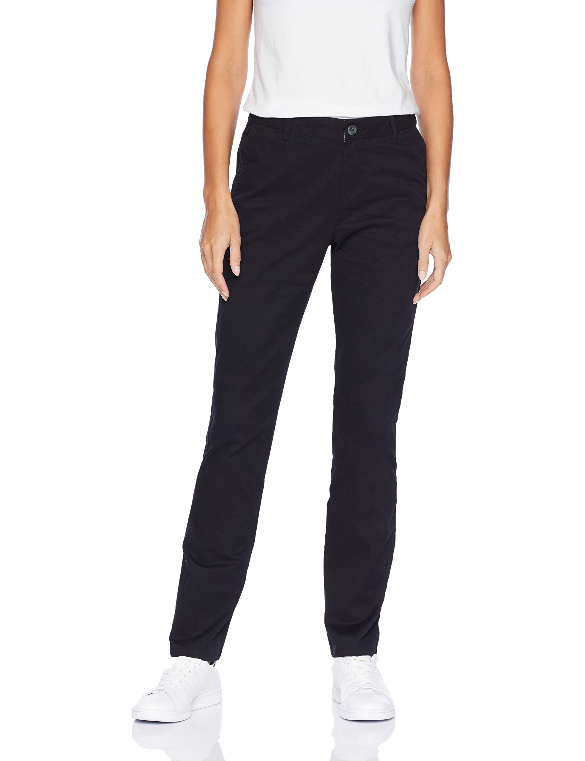 Amazon Essentials Women's Straight-Fit Stretch Twill Chino Pant