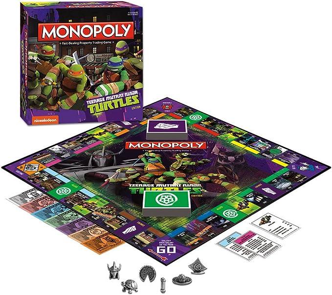 Monopoly: Teenage Mutant Ninja Turtles Collectors Edition: USAopoly: Amazon.es: Juguetes y juegos