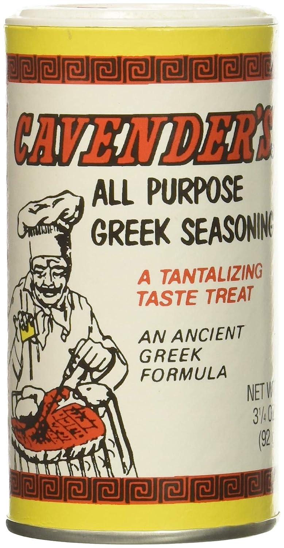 Amazon.com : Cavender All Purpose Greek Seasoning 3.25 OZ (Pack of 2) :  Cavender S Greek Seasoning : Grocery & Gourmet Food