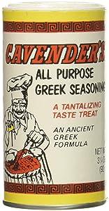 Cavender All Purpose Greek Seasoning 3.25 OZ (Pack of 2)