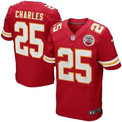 free shipping ba0a9 47ea5 Amazon.com : NIKE Jamaal Charles Kansas City Chiefs Red ...