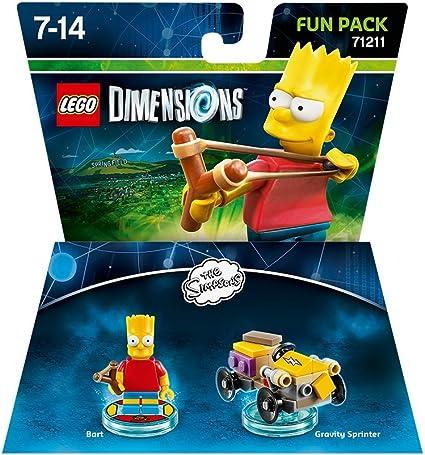Lego Dimensions - The Simpsons - Bart Fun Pack [Importación Inglesa]: Amazon.es: Videojuegos
