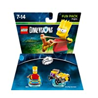 Figurine 'Lego Dimensions' - Bart Simpson - Les Simpson : Pack Aventure