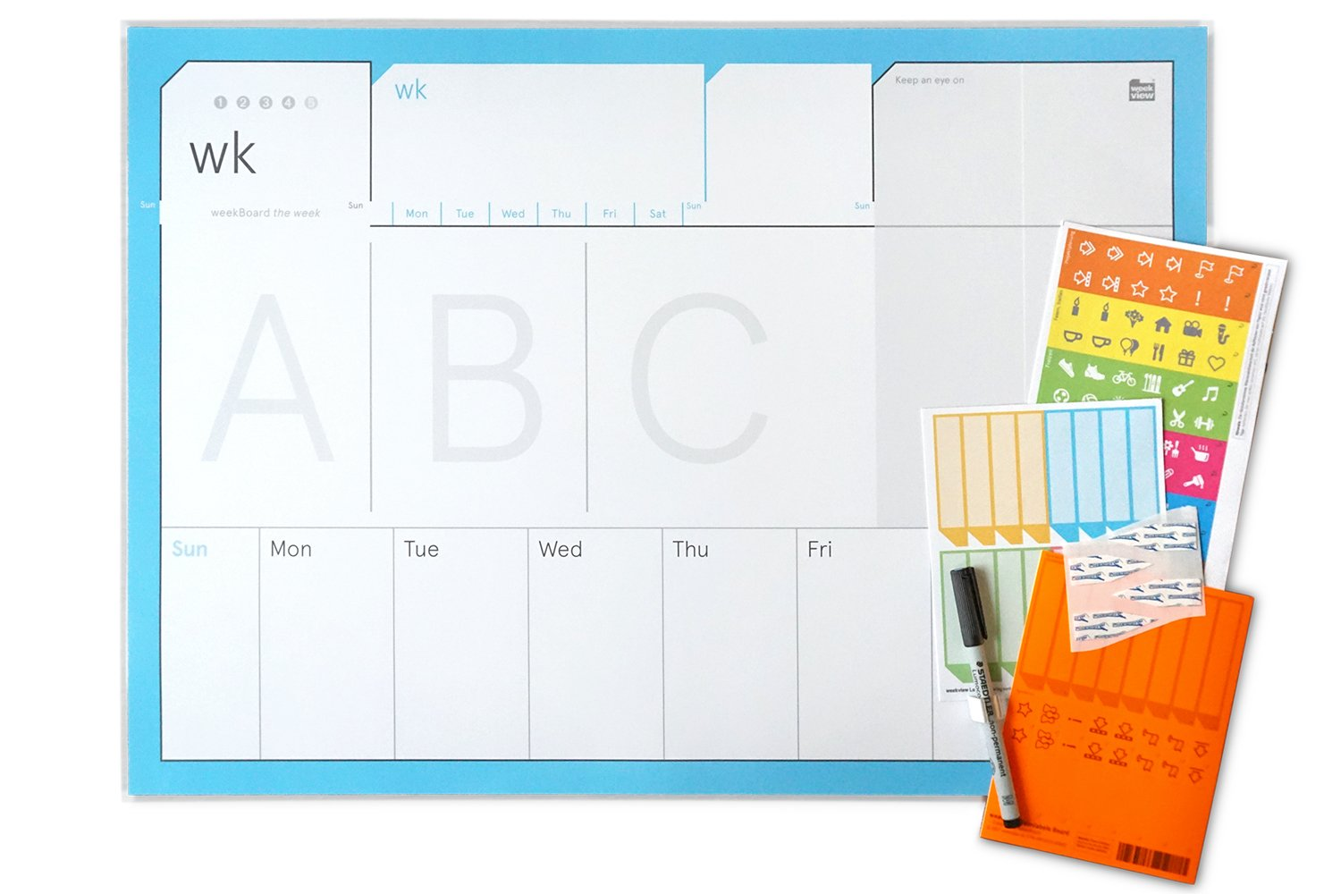 weekBoard | the week Planner! weekview