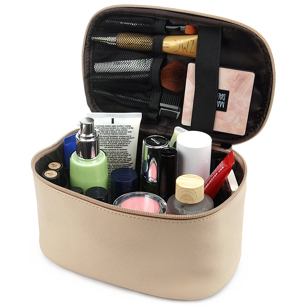 Cosmetic Bag, 365park Travel Makeup Organizer Bag Cosmetic Case Makeup Bag Z005*Black