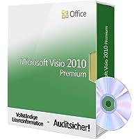 Microsoft Visio 2010 Premium, Tralion-DVD. 32&64 bit. Deutsch Audit Sicher Zertifikat
