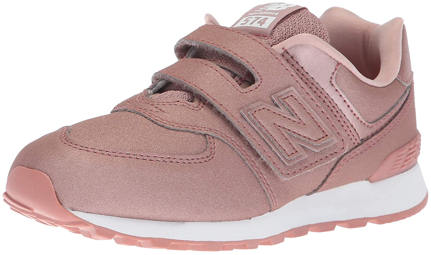 New Balance Kids 574v1 Hook and Loop Sneaker