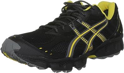 ASICS T1G1N 9079 - Zapatillas de Running de competición de Sintético Hombre, Color Negro, Talla 45 EU: Amazon.es: Zapatos y complementos