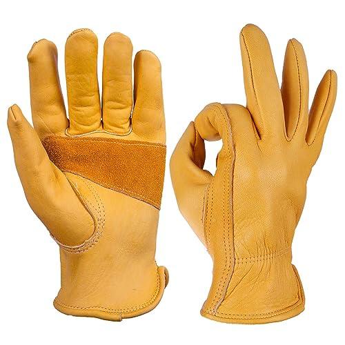 Leather Gloves Dexterity: Amazon.com