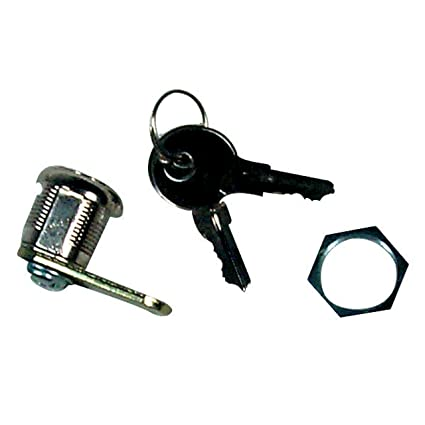 Prime Products 18-3060 5//8 Thumb Operated Lock with Straight and Offset Cam