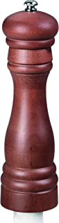 product image for Fletchers' Mill Federal Pepper Mill, Walnut Stain - 8 Inch, Adjustable Coarseness Fine to Coarse, MADE IN U.S.A.