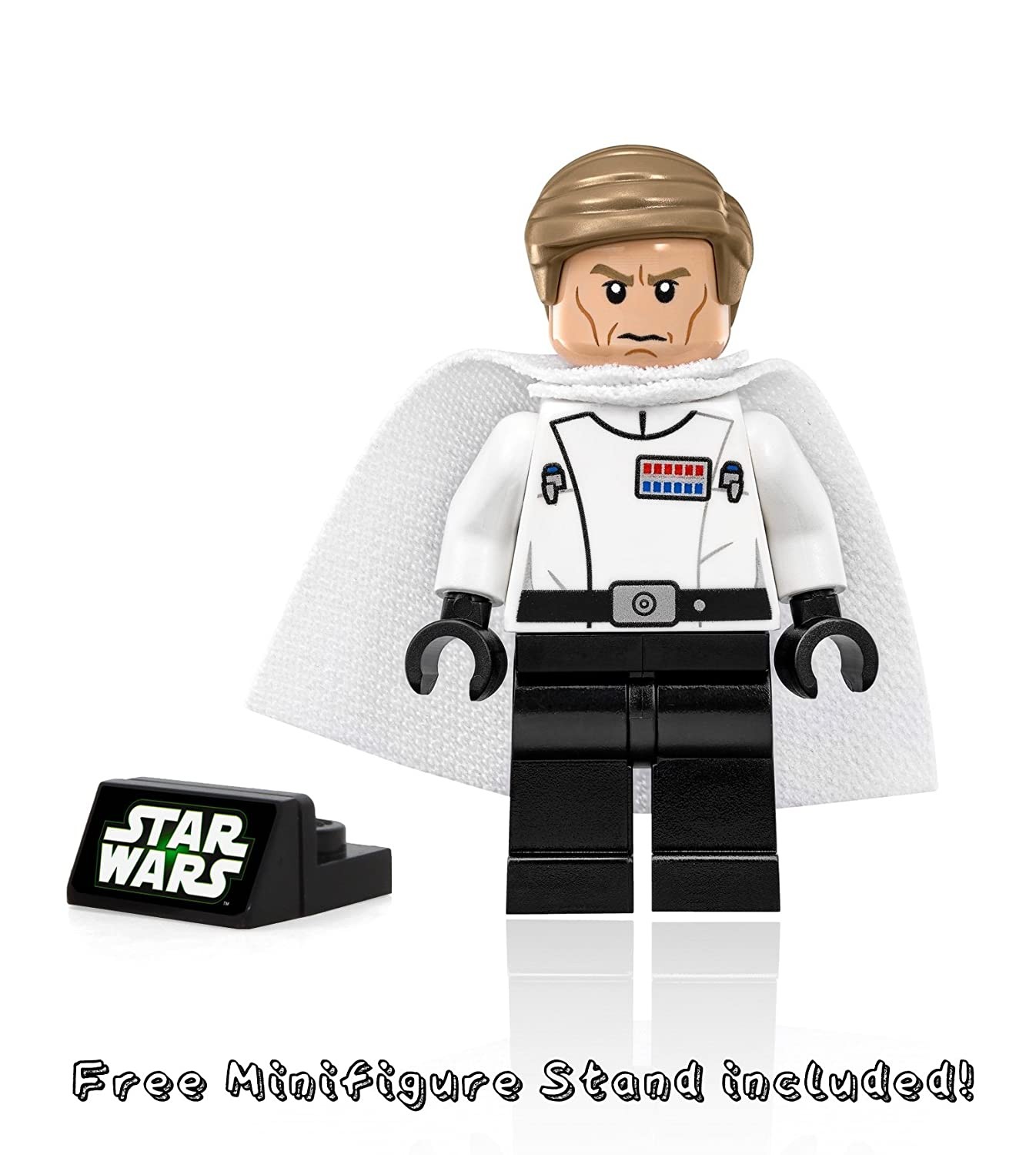 LEGO Star Wars Director Krennic Minifigure with Cape and Blaster Pistol 2016 Rogue One