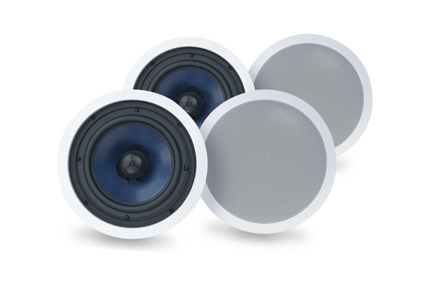 Polk RC Series In-Wall/In-Ceiling Speakers (RC60i (2 Pairs)) RC60i (2 Sets/4 total Speakers)