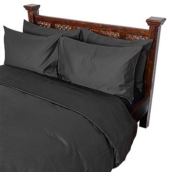 Homescapes Luxus Baumwoll Satin Bettwäsche 155x220 Cm 2 Tlg