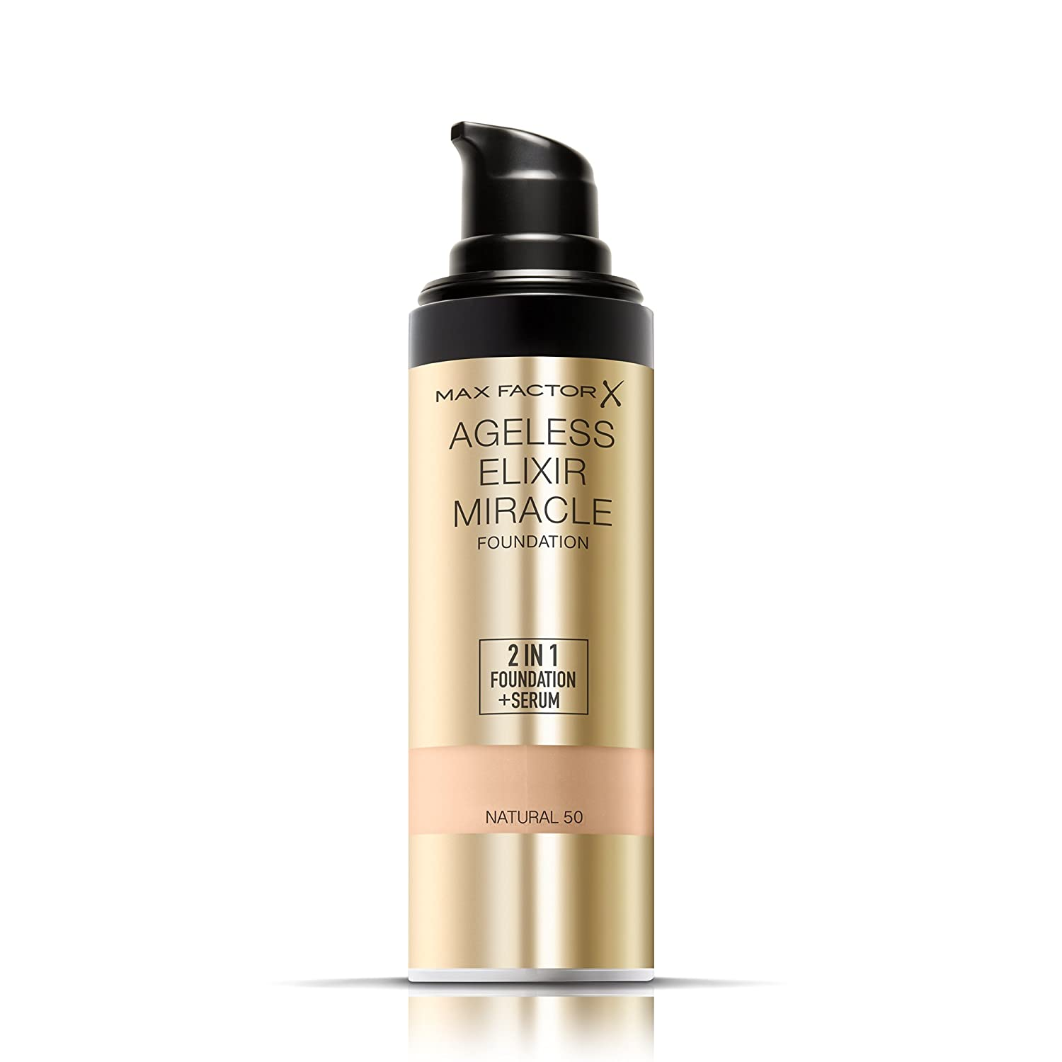 Max factor foundation for mature skin