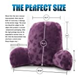 Qianhe Embossed Plush Reading Pillow - Best Bed