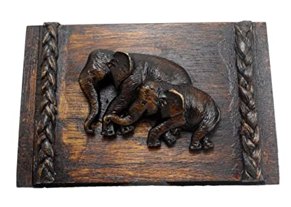 Amazon business card holders handmade vintage thai teak business card holders handmade vintage thai teak decorated with elephant colourmoves