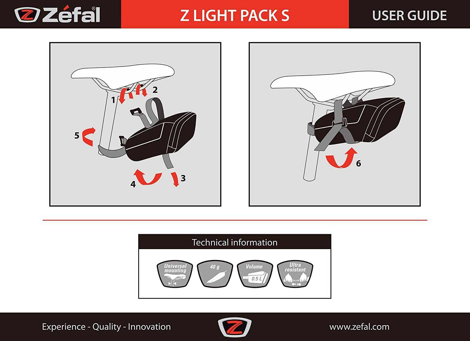 ZEFAL Z Light Pack Mochila