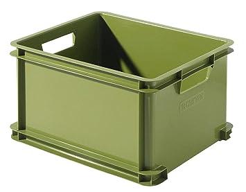 "Curver 199488 Storage Box ""Ecolife Unibox Genuine Green 29 L Polypropylene"