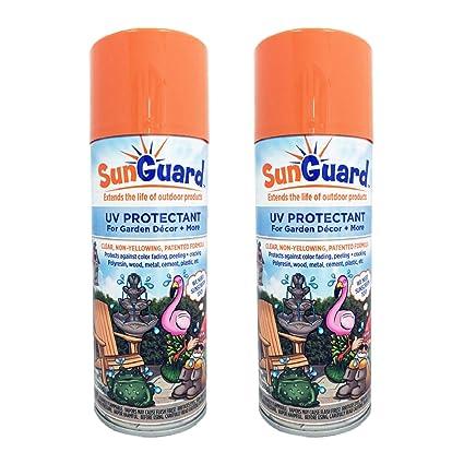 Amazon.com: SUNGUARD Spray protector UV para decoración de ...