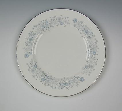 Amazoncom Wedgwood China Belle Fleur Dinner Plates Very Good
