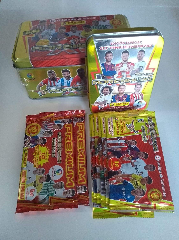 Adrenalyn Tin Box + Compact Box + 7 Sobres actualización + 2 ...