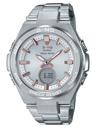 Amazon.com: Reloj para mujer Casio Baby-G G-MS de acero ...