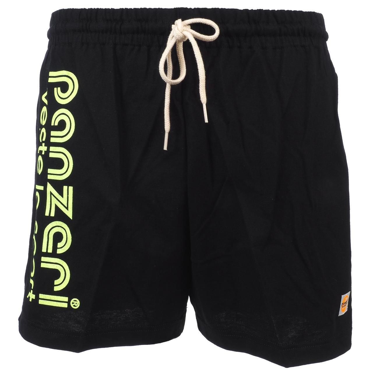 PANZERI - Uni a Noir FL jne Jersey - Shorts Multisports