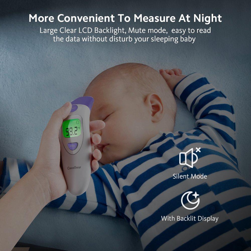 Amazon.com: Termómetro para bebé con función de oreja ...