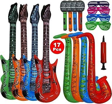 Woo Well 17 Piezas Juguete de Instrumentos Inflable de Gran tamaño ...