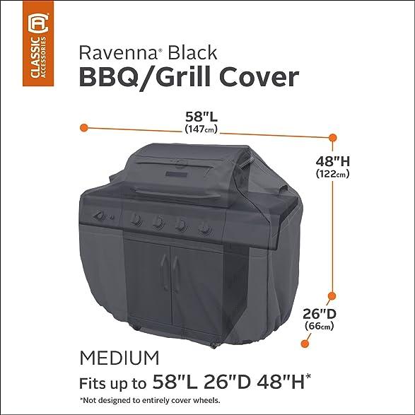 Amazon Classic Accessories Ravenna Grill Cover