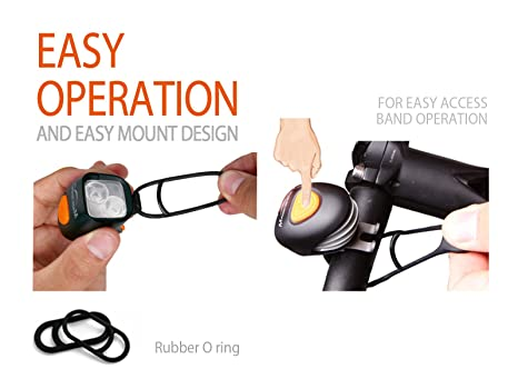 Magicshine MJ-6015 Mounting O-rings Durable and robustQuick and easy to use